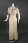 Unusual Edwardian Wool Tennis Dress with French Label