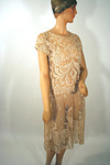 Filet Lace Day Dress Circa 1925