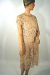 Filet Lace Day Dress Circa 1925