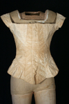 1830's Transitional Corded Corset or Stays